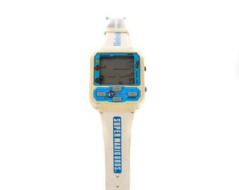 Nintendo Super Mario Bros Nelsonic -original 1989 Wrist Watch game-Rare