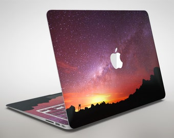 Beautiful Milky Way Sunset - Apple MacBook Air or Pro Skin Decal Kit (All Versions Available)