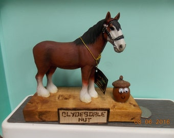 """Clydesdale Nut - What are you """"Nuts"""" about?"""