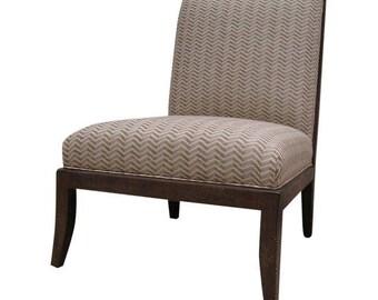 Bernhardt Chevron Birch Accent Chair
