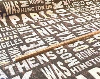 "Nooteboom decoration fabric ""Cities"""