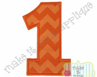Applique Birthday Number Set Embroidery Machine Design