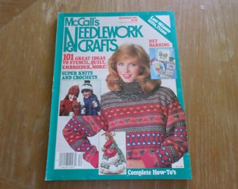 McCall's Needlework & Crafts December 1984