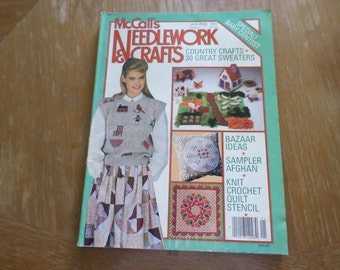 McCall's Needlework & Crafts Jan/Ferb 1983