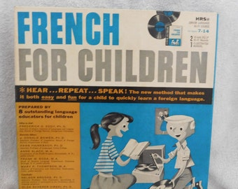 French for Children 2 LP's