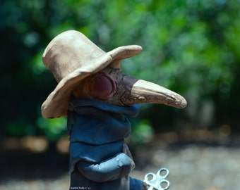 Plague Doctor Figure