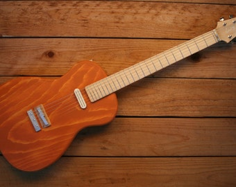 Pine Poorboy Guitar