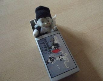 1980s Pierrot in matchbox -