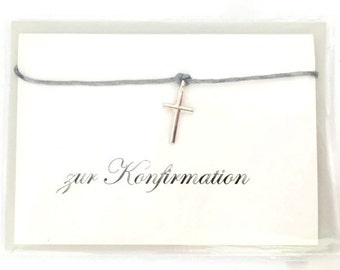 """Bracelet and card """"to the confirmation"""" envelope"""