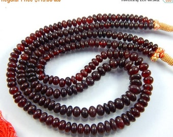 on sale Latest Arrival, SALE AAA Garnet Beads, 6-10 mm Rondelles, Garnet Rondelles, Red Gemstone Beads, January Birthstone 572 ct 18 inches