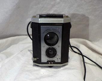 Kodak Brownie Reflex Camera, Synchro Model, Vintage Retro Photography Salvage