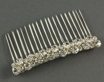 Diamante Wedding Comb | Crystal Wedding Hair Comb | Bridal Wedding Comb |  Crystal Bridal Hairpiece |  Diamante Wedding Hair Comb | Bridal