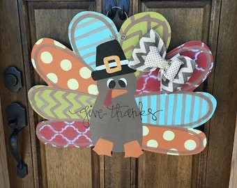 Fall Turkey Doorhanger