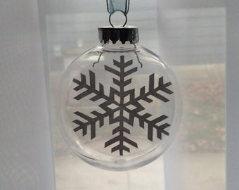 Snowflake - Papercut ornament, Christmas Ball