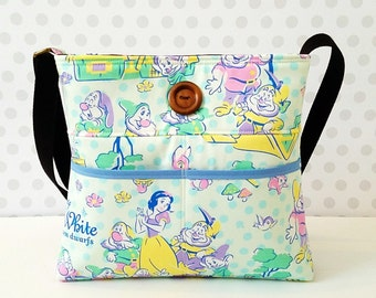 CLEARANCE Special Edition Listing / Snow White Small Crossbody Bag / Princess