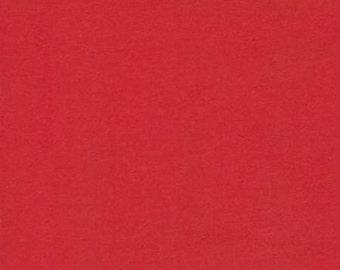 Red Cuddle Cloth by Moda Fabrics - 1 yard