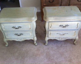 Nightstands Dressers Permacraft French Provincial Vintage