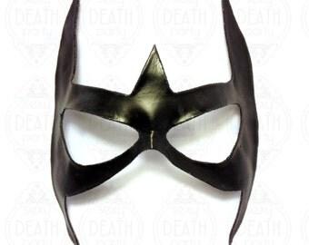 Huntress Mask, Shape Formed Leather