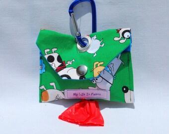 Dog Poop Bag Dispenser Dog Poo Bag Dog Mess Bag Waste Bag Dispenser Green Dog Day Dreams
