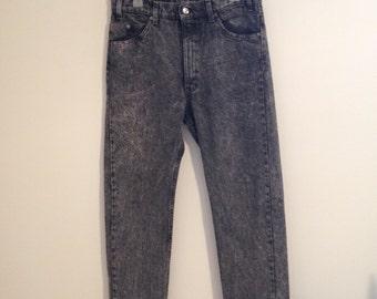 Levi's Stonewashed Jeans w 32 505's