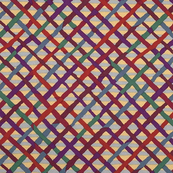 MAD PLAID CURRY BM37  Brandon Mably Kaffe Fassett Collective sold in 1/2 yard increments
