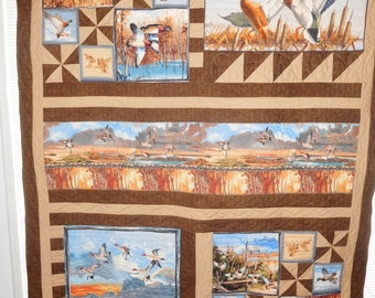 Waterfowl and Duck Quilt