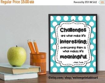 60% OFF SALE Teacher Classroom Decor, Inspirational Quote, Classroom Decoration, Motivational Wall Decor, Classroom Sign, Quote Poster, Art