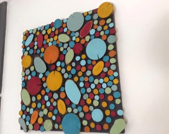 Modern Art Abstract Wall hanging Picture - Distortion