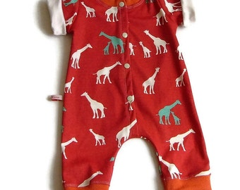 Babystrampler, organic cotton, and overall size 68