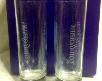 "Courvoiser 6"" Tall  Glasses...Matching Set Of 2"