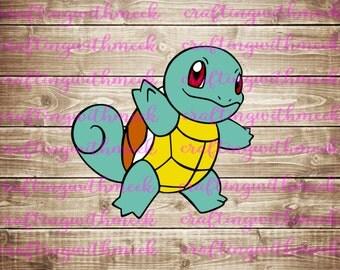 Pokemon Squirtle SVG
