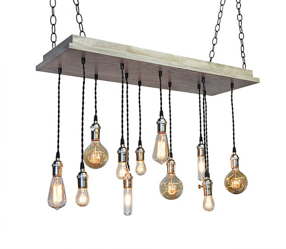 Industrial Tin Chandelier Industrial By Industriallightworks: Urban Chandelier Industrial Lighting By IndustrialLightworks