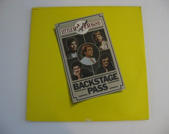 Little River Band - Backstage Pass - 1980