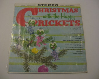 The Happy Crickets - Christmas With - 1959