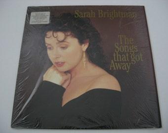 Sarah Brightman - The Songs That Got Away - 1989 (Vinyl Record)