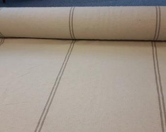 Old Flour Sack Woven Fabric; Flour Sack Table Cloth; Grain Sack Fabric