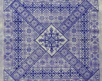 Shades of Indigo PDF Chart by Northern Expressions Needlework