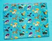 Keldeo Ponyta Blitzle Galloping Pokemon Zipper Bag