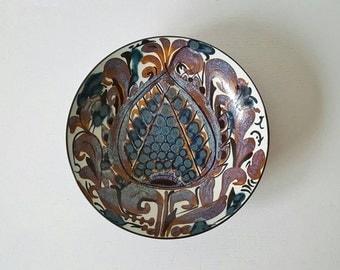 Mid-century Danish Ceramic Bowl -  Kari Christensen, Royal Copenhagen 1960s