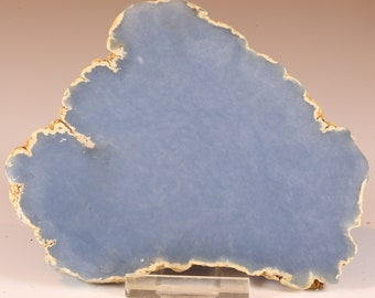 Beautiful Grey/Blue Anhydrite Angelite Slab