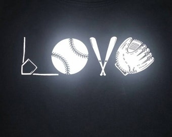 Baseball Love Tank