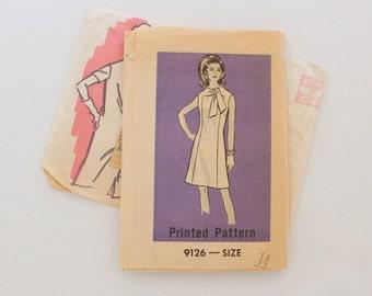 """Anne Adams 9126 · sz 14 bust 36"""" · Womens 1960s Pattern"""
