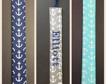 Nautical Anchors--Pacifier Clip--Soothie Holder--Binky Paci--Gray Grey Navy or Aqua-Baby Girl or Boy--Personalized--Monogrammed
