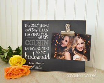 Maid of Honor Gift Idea, Personalized Photo Frame  {Best Friend . My Maid of Honor}  Personalized Gift For Maid Of Honor, Wedding Ideas