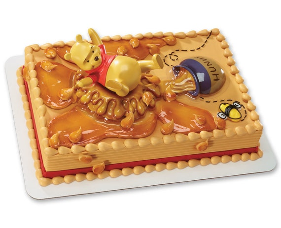 Images Of Cake With Name Honey : Winnie the Pooh Honey Pot Splash Fun Cake Topper kit Birthday