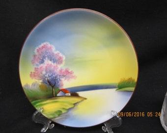Noritake 6 1/4 inch Decorative Plate