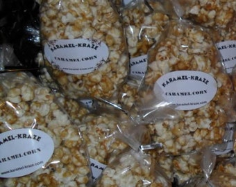 20 CARAMEL CORN Popcorn Bags!!! (1.5 oz)