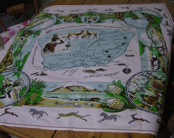 South Africa Square Tablecloth