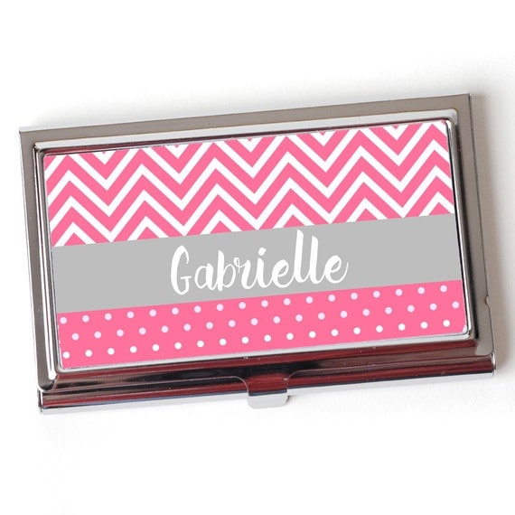 Custom Business Card Case Personalized Business Card Case