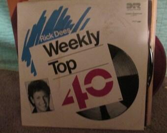 Rick Dees Weekly Top 40 Radio Station Records